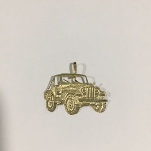 Jewelry - 14k Yellow Gold Jeep 🚙 Suv Car Pendant Charm